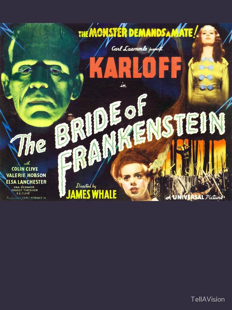 Bride of Frankenstein - The Monster Demands a Bride! by TellAVision