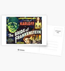 Bride of Frankenstein - The Monster Demands a Bride! Postcards