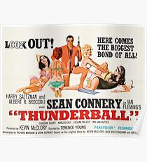 James Bond - Thunderball Movie Poster Poster