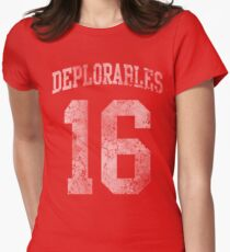 Deplorables 2016 Women's Fitted T-Shirt