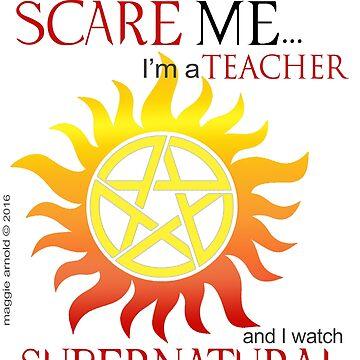 Supernatural Teacher by maggieziffel