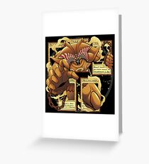 Forbidden one  Greeting Card