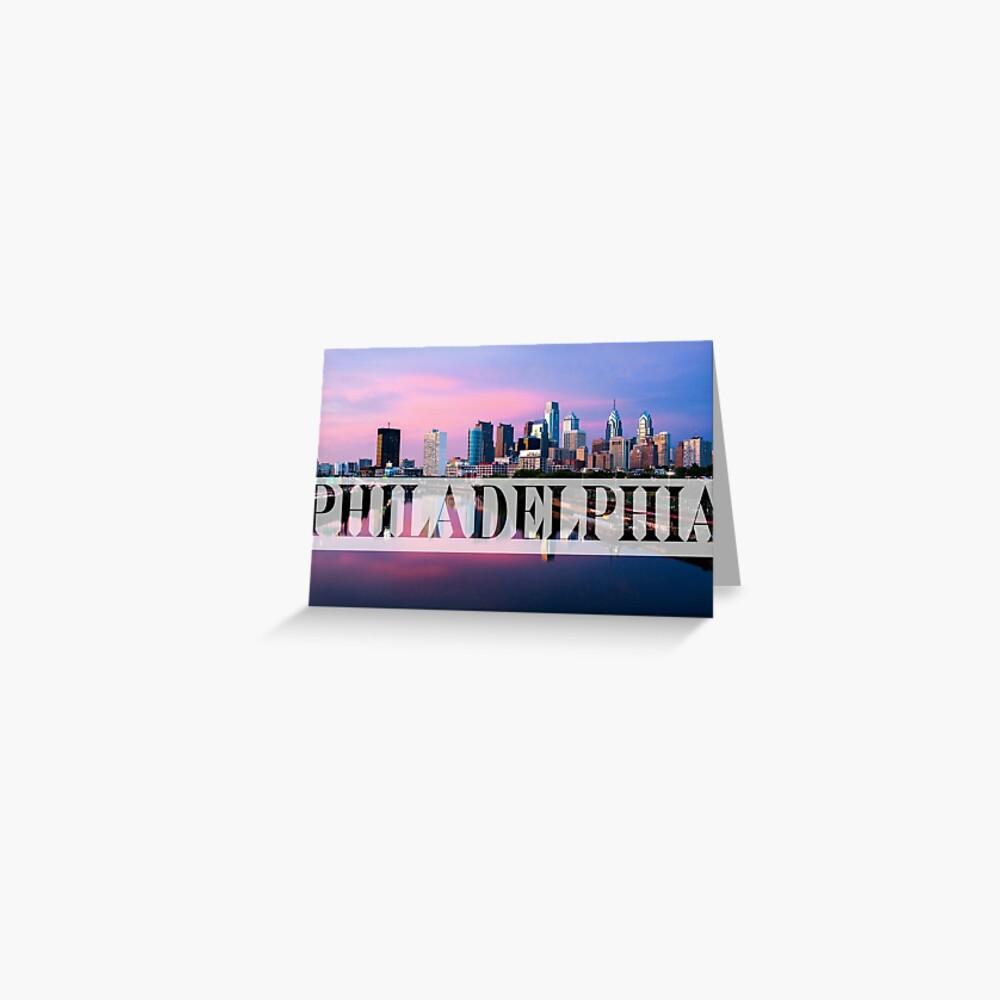 Filadelfia Tarjetas de felicitación