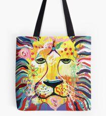 Glowing Lion Tote Bag