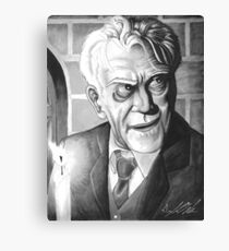 Boris Karloff, Classic Gentleman Canvas Print