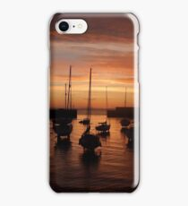 Bray Harbour first light iPhone Case/Skin