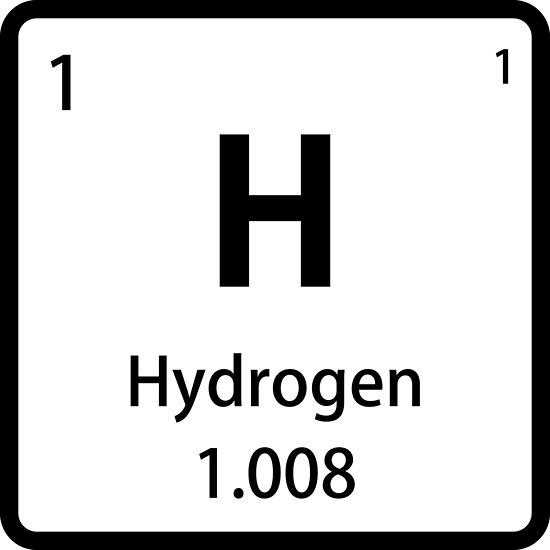 Psters azulejo de elemento de hidrgeno negro tabla peridica azulejo de elemento de hidrgeno negro tabla peridica de sciencenotes urtaz Choice Image