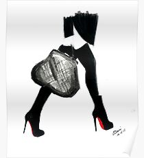 I Love Louboutin Poster
