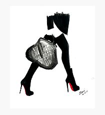 I Love Louboutin Photographic Print