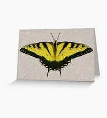 BUTTERFLY, A FLYING FLOWER Greeting Card