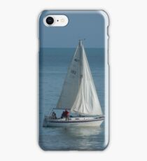 Yacht reflection iPhone Case/Skin