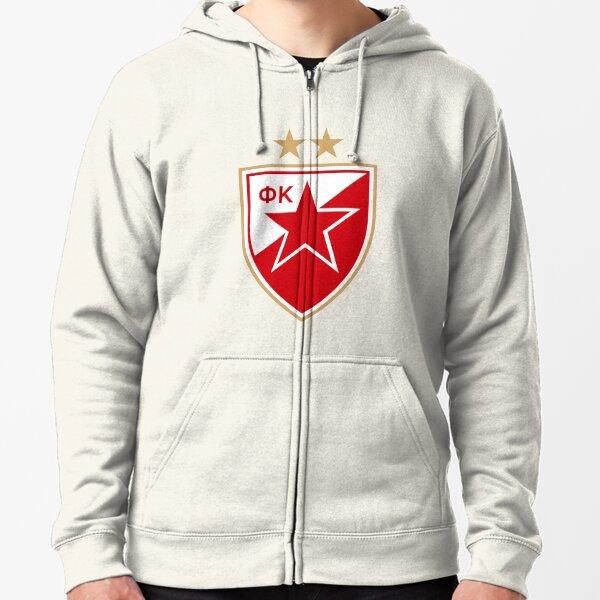 T-shirt hoody sudadera Crvena Zvezda delije hooligans belgrado Serbia