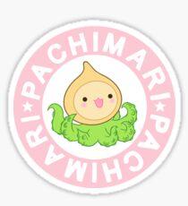 Pachimari (blue) Sticker