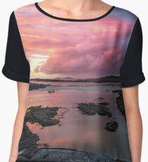 Sunset at Sanna Bay Women's Chiffon Top