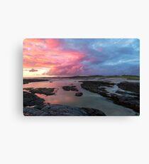 Sunset at Sanna Bay Canvas Print
