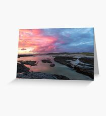 Sunset at Sanna Bay Greeting Card