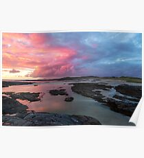 Sunset at Sanna Bay Poster