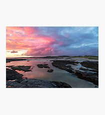 Sunset at Sanna Bay Photographic Print