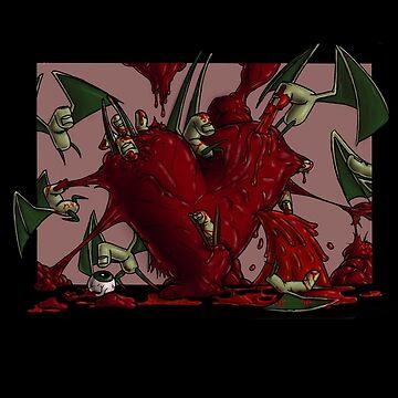 I Heart Finger Bats by voodoowalrus