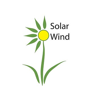 Solar Wind. This Logo is for sale by Kgphotographics