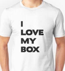 I love my box - black T-Shirt