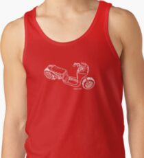 Cafe Scooter Tank Top