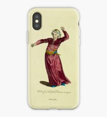 Habit of a Turkish dancer in 1700 Danceur Turc 272 iPhone Case
