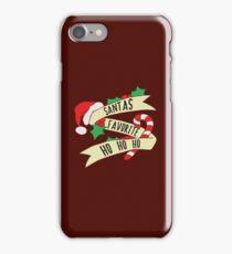 Santa Ho Ho Ho iPhone Case/Skin