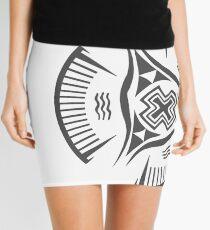 Nippur 3200 BCE Bowl Grey  Mini Skirt