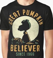 Great Pumpkin Believer Graphic T-Shirt