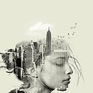Reflection New York City by Vin  Zzep