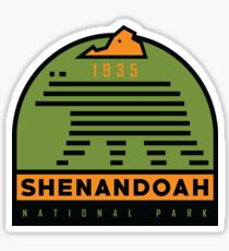 Shenandoah National Park graphic Sticker