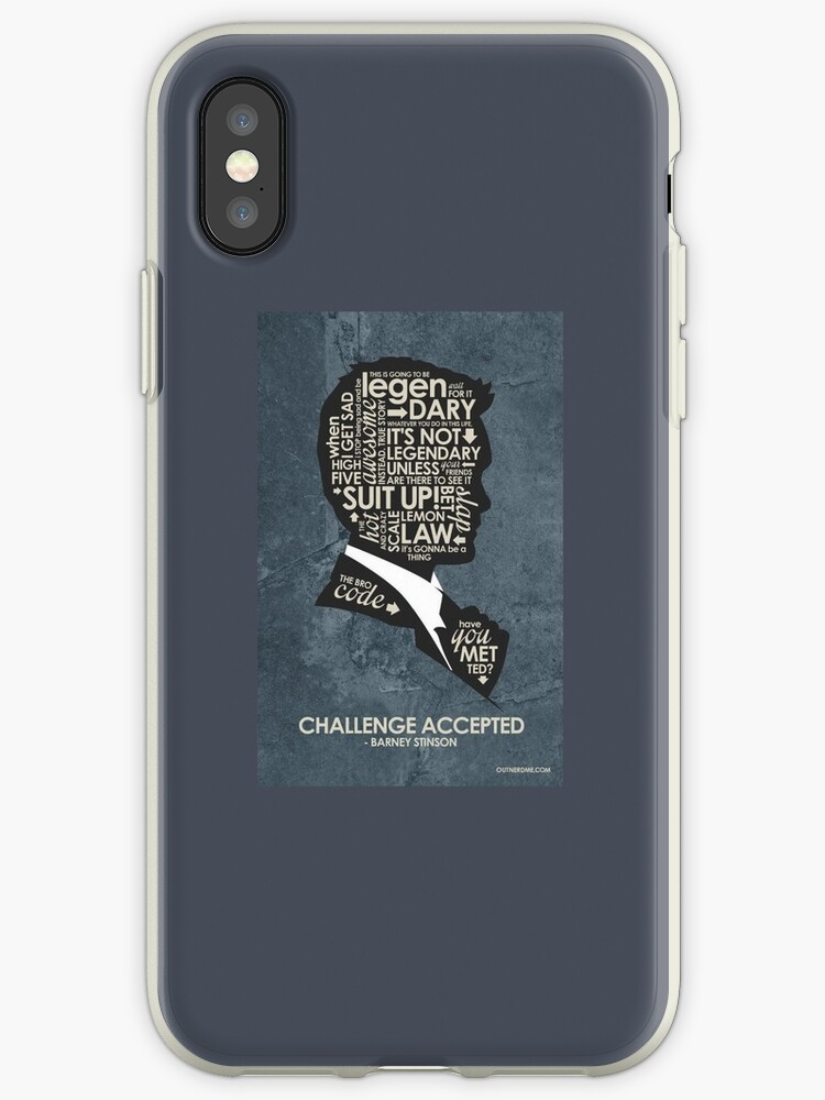 Quotes Of Barney Stinson From How I Met Your Mother Iphone Cases