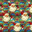 SANTA CHRISTMAS PATTERN by Tammera
