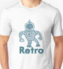 Retro Robot  T-Shirt