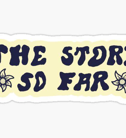 The Story So Far - Sticker Sticker
