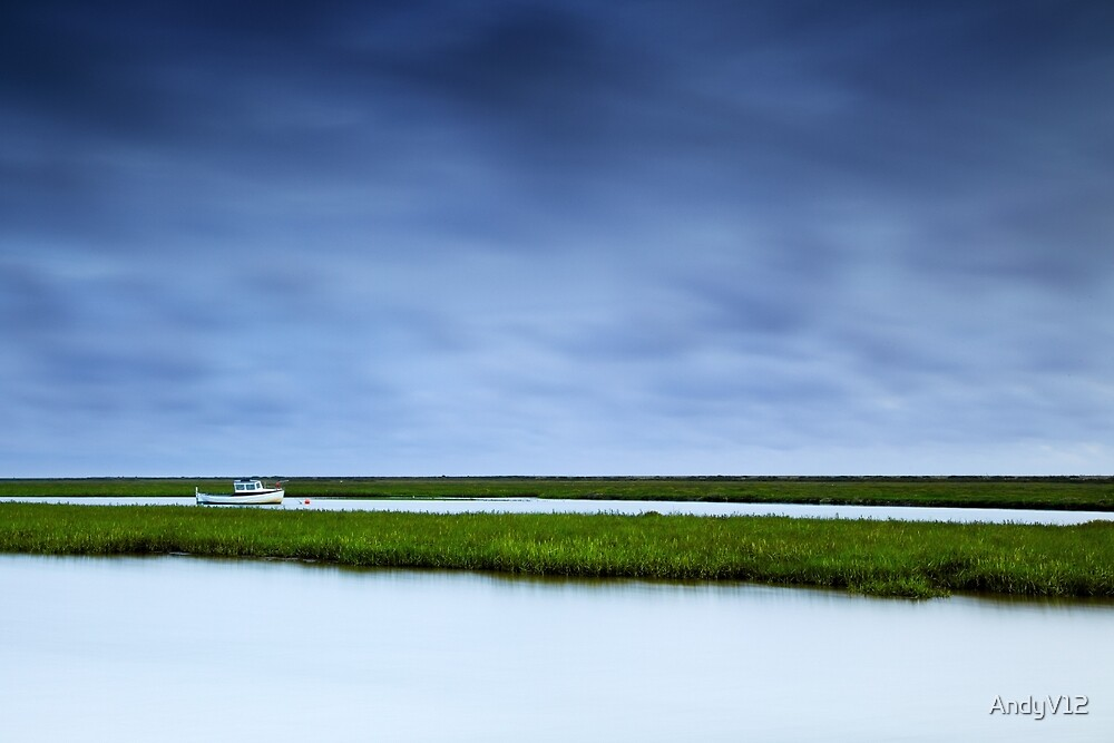 Little Boat Waits by Andy Freer