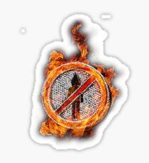 Travis Scott No Bystanders Chain Sticker