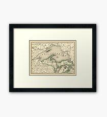 Lake Superior 1878 Framed Print