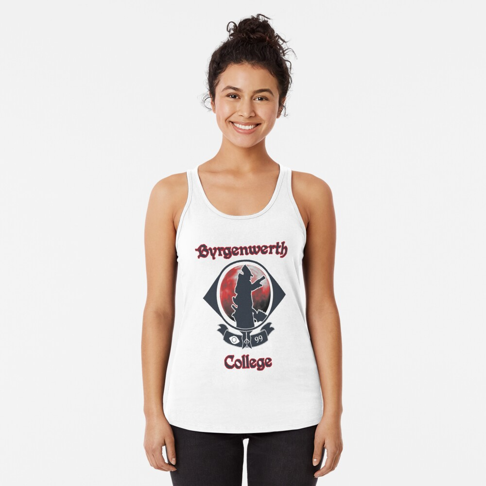 Byrgernwerth College - Go Hunters! Racerback Tank Top