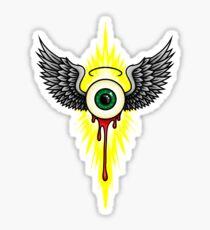 Winged Eye Sticker
