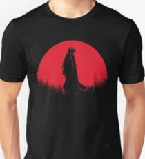 Half Demon Tessaiga User Red Moon Unisex T-Shirt