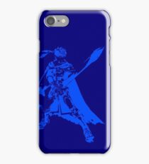 Ike Minimalist Blue iPhone Case/Skin