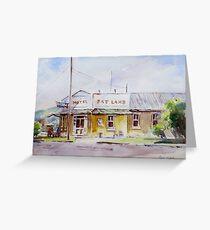 Fat Lamb Hotel, Eugowra, NSW Greeting Card