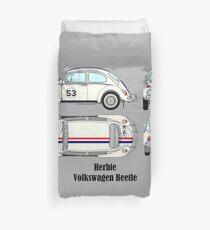 Herbie Volkswagen Beetle Duvet Cover