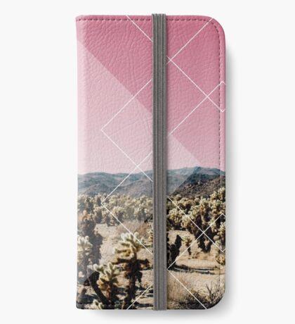 Desert Geo Étui Portefeuille iPhone