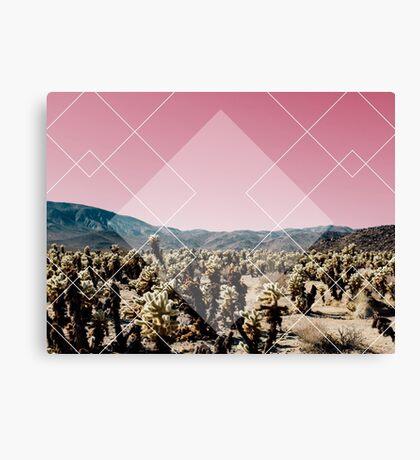 Desert Geo Canvas Print