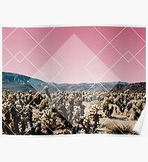 Desert Geo Poster