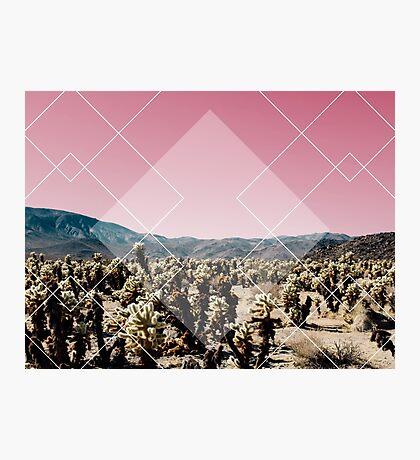Desert Geo Photographic Print