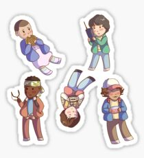 Stranger Things Stickers Sticker